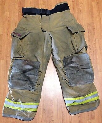 Firefighter Bunker Turnout Pants - Globe G-Xtreme - 38 x 30 - 2005
