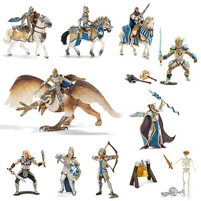 Schleich - Griffin Knight Play Set (11 x toy figure models) NEW knights heroes