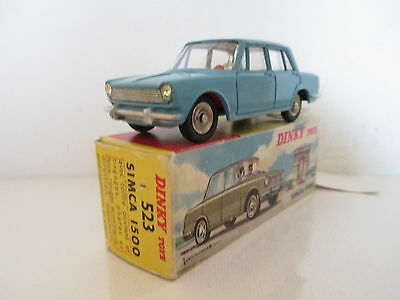 French Dinky 523 Simca 1500 Mib 9 En Boite Uncommon Color Very Nice L@@K