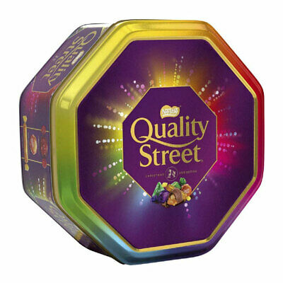 Quality Street LARGE 1.3kg Tin 2017 Edition ( Dated Aug 2017) FREE P&P Offer