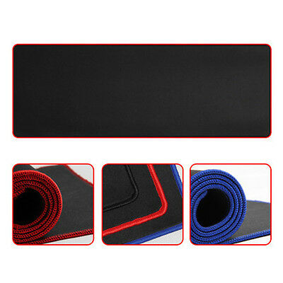 New Large/XL Gaming Mouse Pad Locking Edge Mousepad Keyboard Mat For Dota CS go