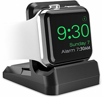 Apple Watch Stand iWatch Holder Mount Charging Dock Non Slip Base and Slot