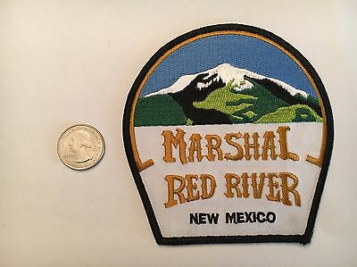 Red River New Mexico Marshal Police Patch NM