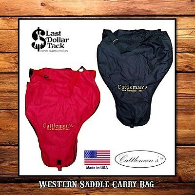 Western Saddle Protector Carrying Bag ~ High Quality Strong Denier
