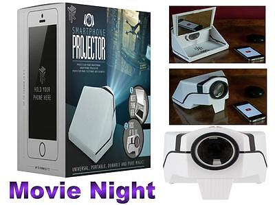 Smartphone Projector portable iphone upto 40' Projection Kids Fun Christmas Gift