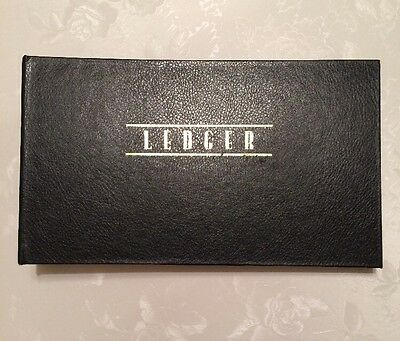 Vintage Accounting Payments Ledger Binder