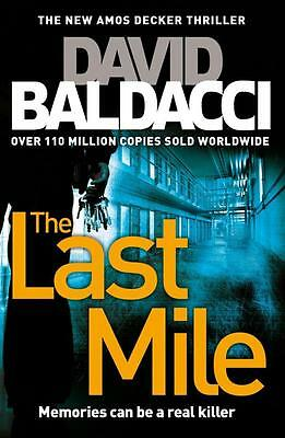 NEW The Last Mile By David Baldacci Paperback Free Shipping