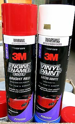 11x 3M Spray Paint 400g Cans Different colours for Vinyl, Automotive, etc.