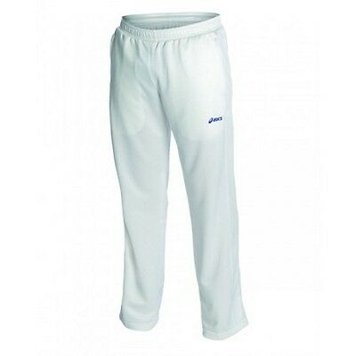 Asics Kids Cricket Playing Pant (1004 White) Free AUS Delivery