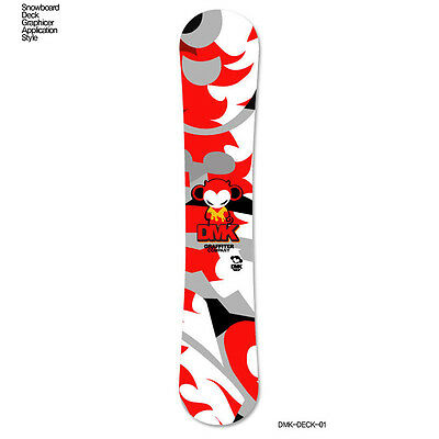 Skin Decal For Snowboard Deck Tuning Stickers Customize Graphicer Design DMK