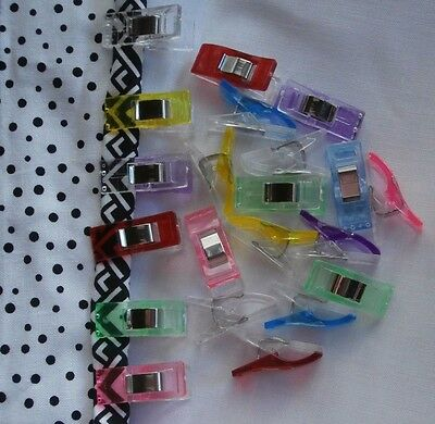 WONDER CLIPS for Quilting, Bag Making, Craft - AUSTRALIAN seller 12-36 pieces