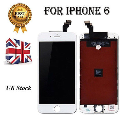"""For iPhone 6 4.7""""LCD Touch Display Assembly Digitizer Screen Replacement White"""