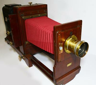 'The Grosvenor' horizontal enlarger, London made, circa 1900