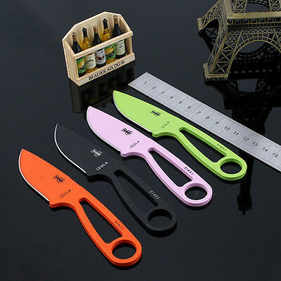 Small fixed blade straight protable Ant outdoor survival knives, camping hunting
