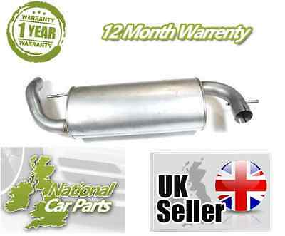 Land Rover Freelander 1.8 97-06 Exhaust rear Back  Box Tail Pipe + Fitting Kit