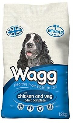 Dry Dog Food Wagg ADULT Complete Chicken and Vegetables - 12 kg