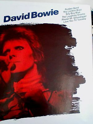 DAVID BOWIE Die Weisse Serie GERMAN COMPILATION Decca THE LAUGHING GNOME