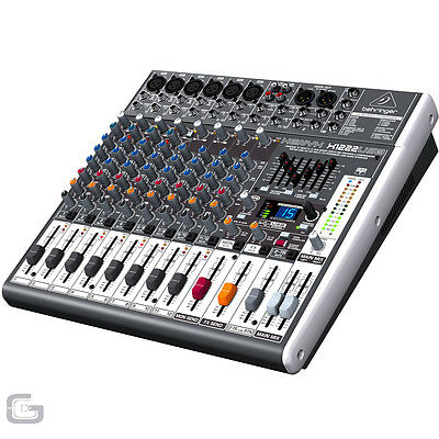Behringer X1222USB Xenyx Small Format 6 Mono Microphone Input Mixer