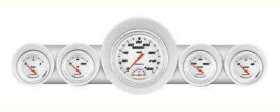 Classic Instruments 59-60 Chevy Impala Package w/ Velocity White Gauges