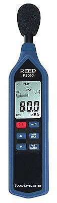 REED R8060 Sound Level Meter with Bargraph Type 2, 30 to 130 dB with LCD Display
