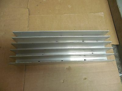 "NO NAME ALUMINUM HEAT SINK SYNC 12""x 4""x 2"""