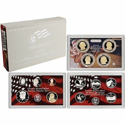2007 US Mint SILVER Proof Set