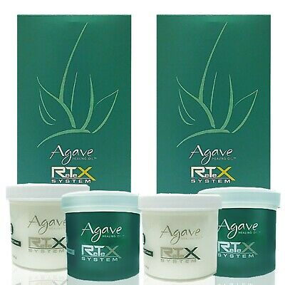 NEW Bio Ionic AGAVE Retex System Hair Straightening Kit TWO SETS