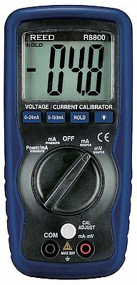REED R8800 Voltage/Current Calibrator, 24mA/199.9mV with a LCD Display