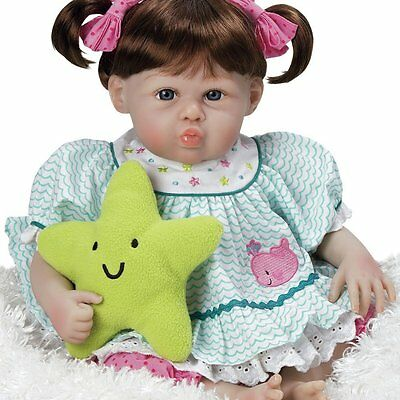 Paradise Galleries Realistic Lifelike Baby Doll Star Kissed, Silicone-Like Vinyl