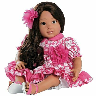 Paradise Galleries Realistic Child Doll, Hawaiian Hula Girl Doll Lei Aloha