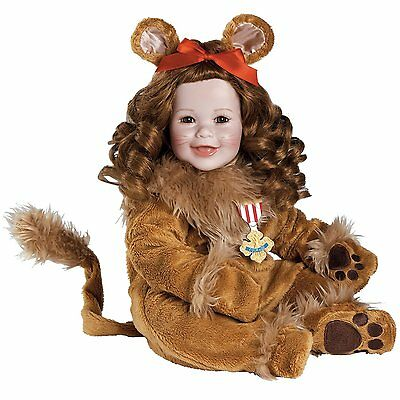 """Adora Premium Quality 20"""" Collectible Wizard of Oz Cowardly Lion Play Doll"""