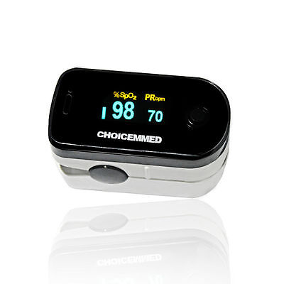 ChoiceMMed Home Use Pulse Oximeter Measures Oxygen Saturation, Pulse Rate ,4 Dir