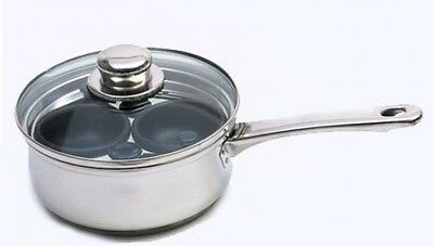 Clearview Stainless Steel 2 Hole Egg Poacher 16cm