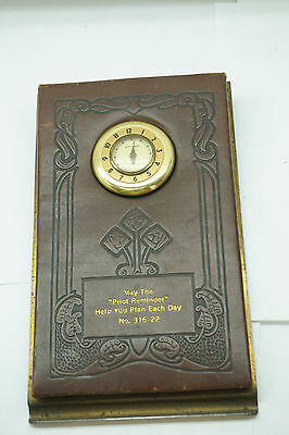 Antique New Haven Clock Rare Pilot Reminder Appointment Book Model 316-22