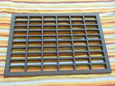 13 X 19 Vintage Iron Steel Floor Wall Cold Air Register Heat Vent Grate