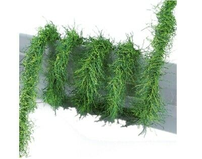 2m Mini Garland for Christmas Crafts and Decor - Green Grass