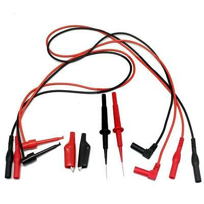 Aidetek Alligator clips with removable insulator TL809 Electronic Test TLP20155