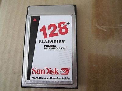 SanDisk PC Card 128MB PC CARD ATA 128mb