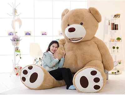 "78.7"" 200cm 6.5ft Giant Teddy Bear CASE UNFILLED NO PP COTTON Huge Stuffed Toy"
