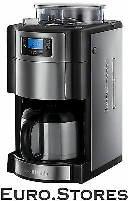 RUSSELL HOBBS 21430-56 BUCKINGHAM Coffee Machine Stainless Steel/Black Genuine