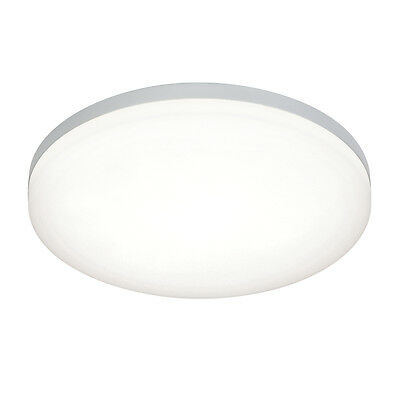 Saxby 54479 - Noble - 22W Cool White Round IP44 Flush LED Bathroom Ceiling Light