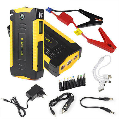 New 82800mAh Multifunction Jump Starter Car Booster Power Bank Charger Minimax
