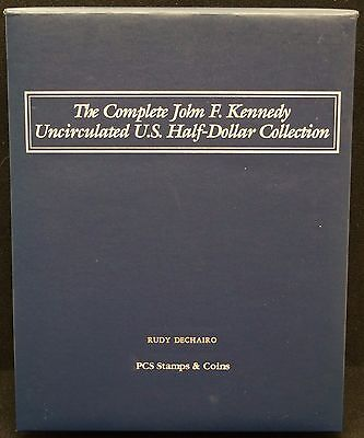 The Complete John F. Kennedy Uncirculated US Half-Dollar Collection Album