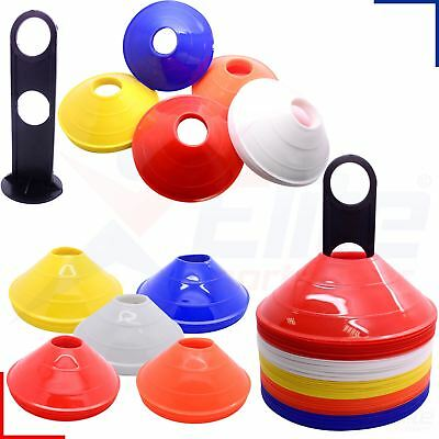 Football Training Precision Cones Rugby Sports Pitch Space Safety Markers