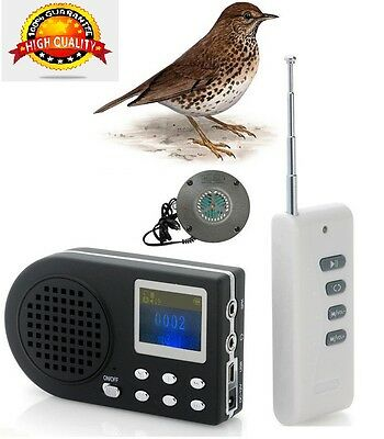 HUNTING BIRD CALLER WITH SPEAKER ULTRASSONIC Special songs THRUSH