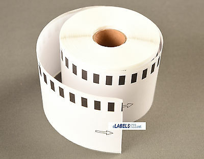 6 Rolls of DK-2205 Brother QL Compatible (Continuous) Address Labels [BPA FREE]