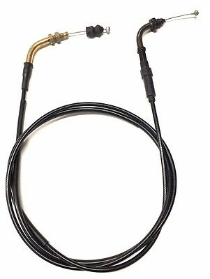 New 78.5 Inch Throttle Cable Carburetor Wire For Street Legal Moped Scooter Gy6