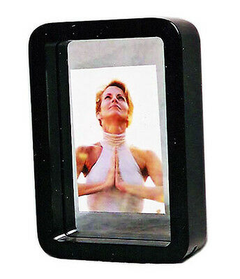 """Black Double Sided Photo Picture Frame 4x6"""" & 5x7"""""""