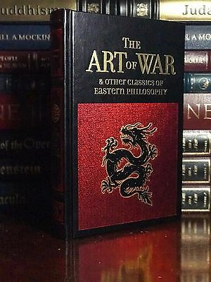 The Art of War by Sun Tzu New Leather Bound Gift Edition Eastern Philosophy
