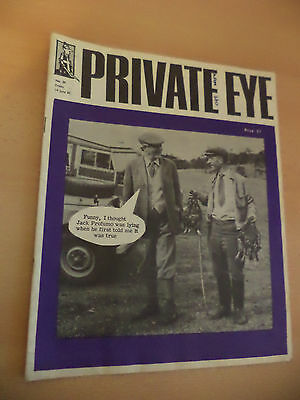 Old Vintage Private Eye 1960S Magazine Politics Humour No 39 14 June 1963